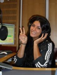 Galeriebild Rabia als Studiogast in WDR-Radiosendung 'Cilgin'