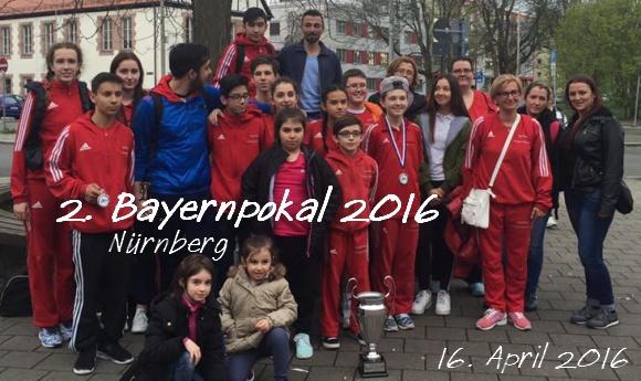 2. Bayernpokal 2016 in Nürnberg - Titel