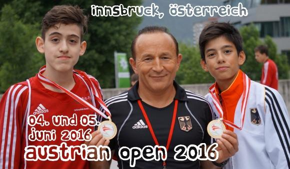 Austrian Open 2016 in Innsbruck - Titel