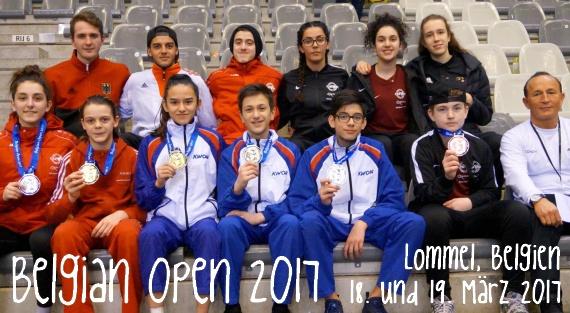 Belgian Open 2017 in Lommel - Titel