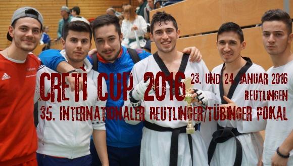 Creti Cup 2016 in Reutlingen - Titel