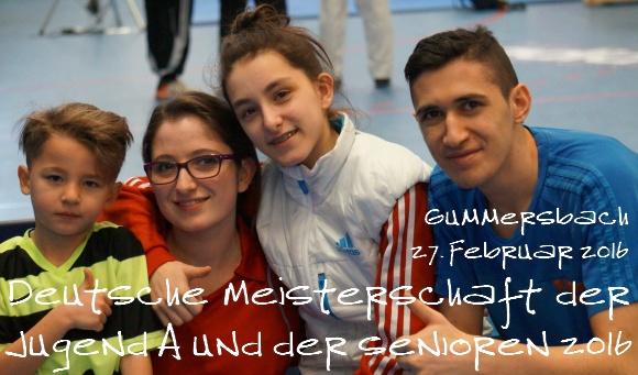 Deutsche Meisterschaft Jugend A und Senioren 2016 in Gummersbach - Titel