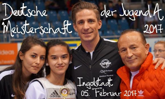 Deutsche Meisterschaft der Jugend A 2017 in Ingolstadt - Titel