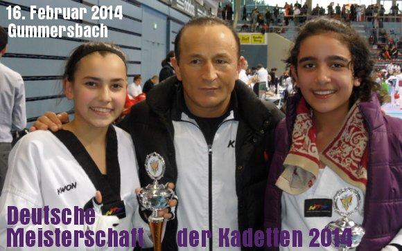 Deutsche Meisterschaft der Kadetten 2014 in Gummersbach - Titel