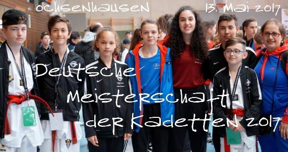 Deutsche Meisterschaft der Kadetten 2017 in Ochsenhausen - Titel