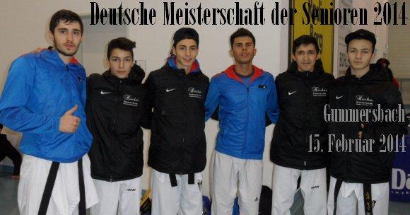 Deutsche Meisterschaft der Senioren 2014 in Gummersbach - Titel