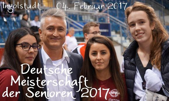 Deutsche Meisterschaft der Senioren 2017 in Ingolstadt - Titel