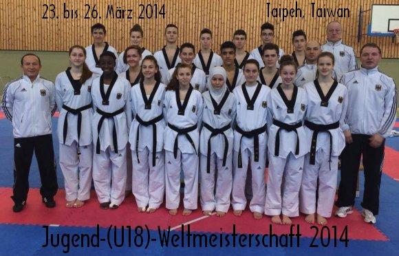 Jugend-(U18)-Weltmeisterschaft 2014 in Taipeh - Titel