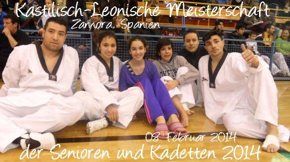 Kastilisch-Leonische Meisterschaft der Senioren und Kadetten 2014 in Zamora