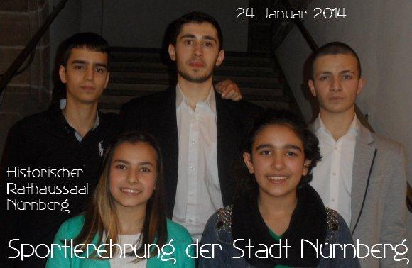 Sportlerehrung der Stadt Nürnberg 2014 - Titel