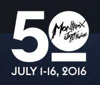 Logo 50 Jahre Montreux Jazz Festival