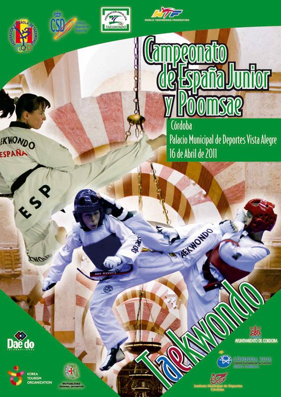 Plakat Spanische Meisterschaft Jugend A 2011