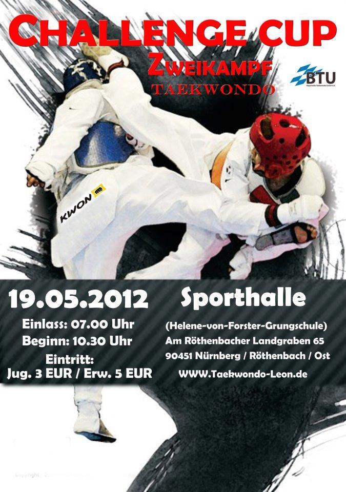 Plakat Challenge Cup 2012