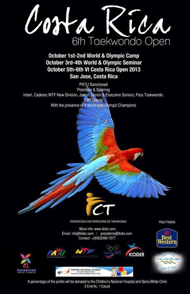 Plakat Costa Rica Open 2013