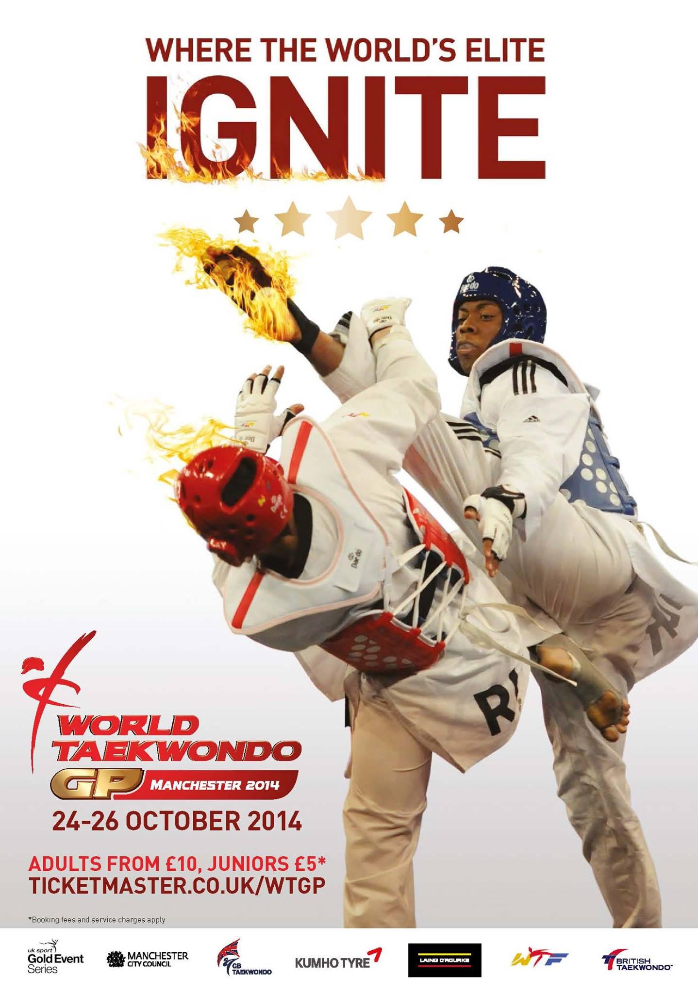 Plakat WTF World Grand Prix 3 2014