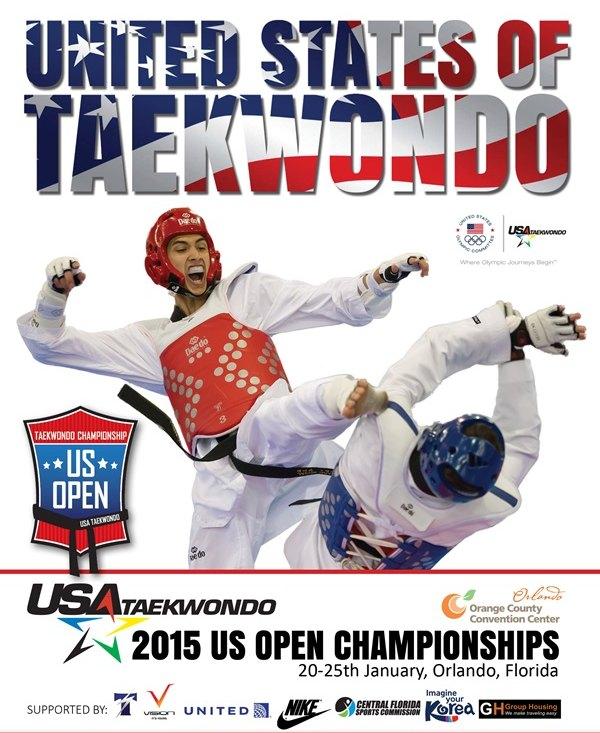 Plakat U.S. Open 2015
