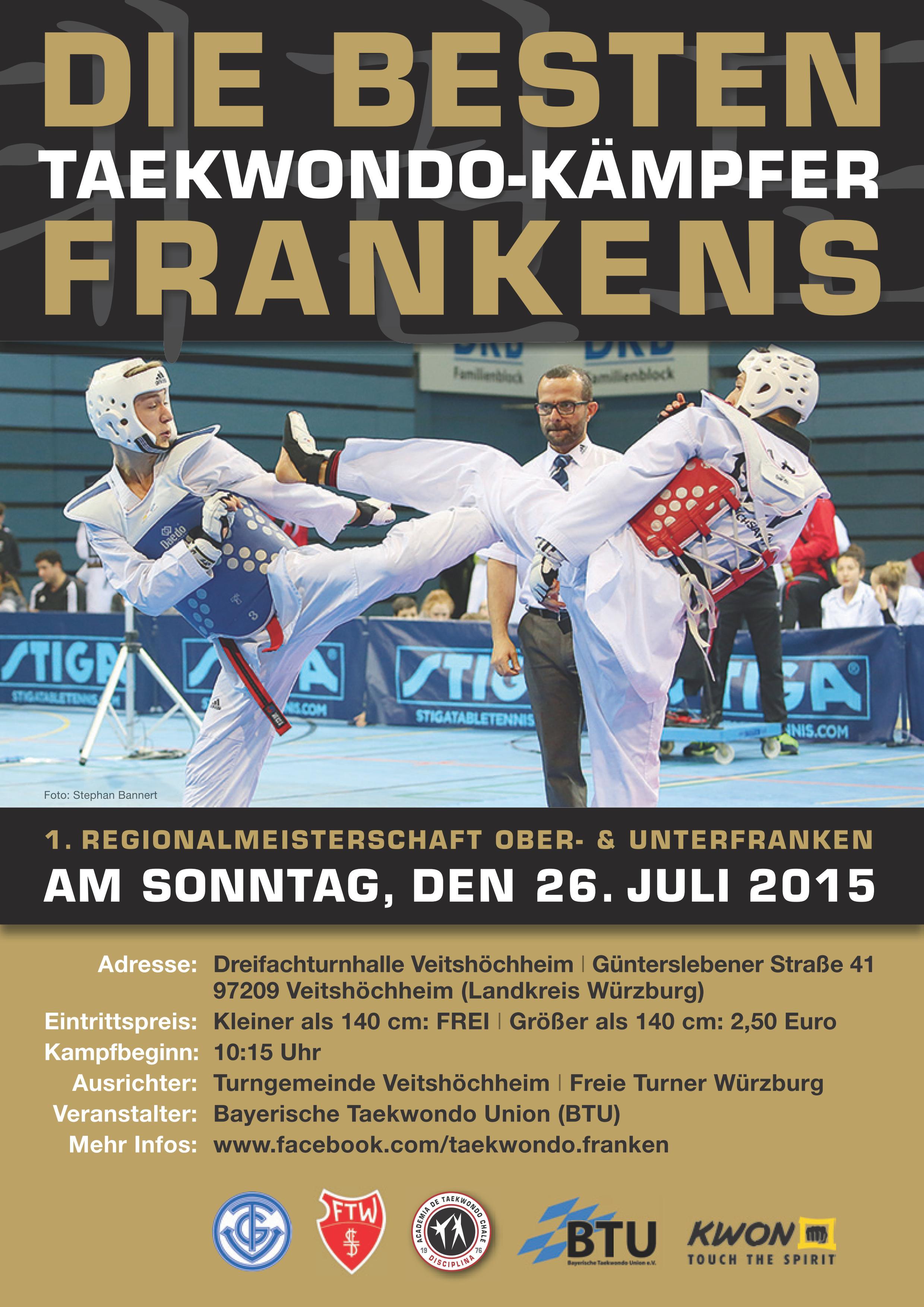 Plakat Regionalmeisterschaft Franken 2015