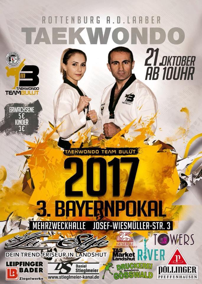 Plakat 3. Bayernpokal 2017