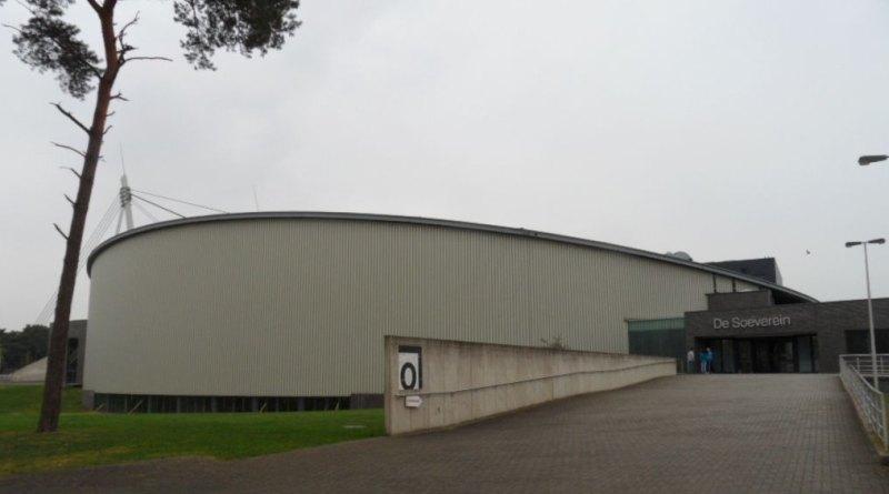 Belgian Open 2014 in Lommel - Die Wettkampfhalle