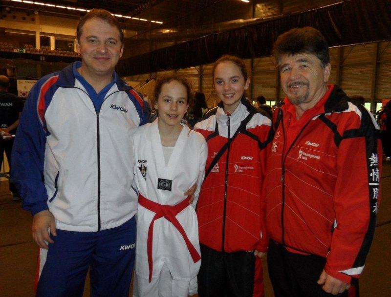 Belgian Open 2014 in Lommel - Nurettin Yilmaz, Vanessa Beckstein, Isabel Beckstein und Horst Scholz