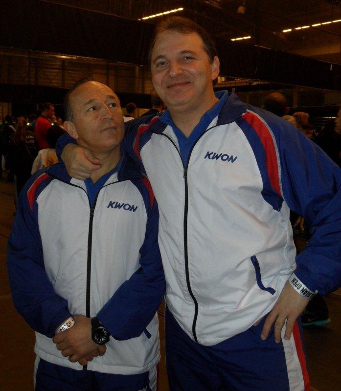 Belgian Open 2014 in Lommel - Die bayerischen Landestrainer Özer Gülec und Nurettin Yilmaz