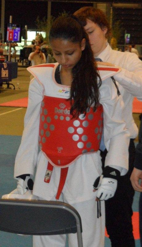 Belgian Open 2014 in Lommel - Iman Couvillers