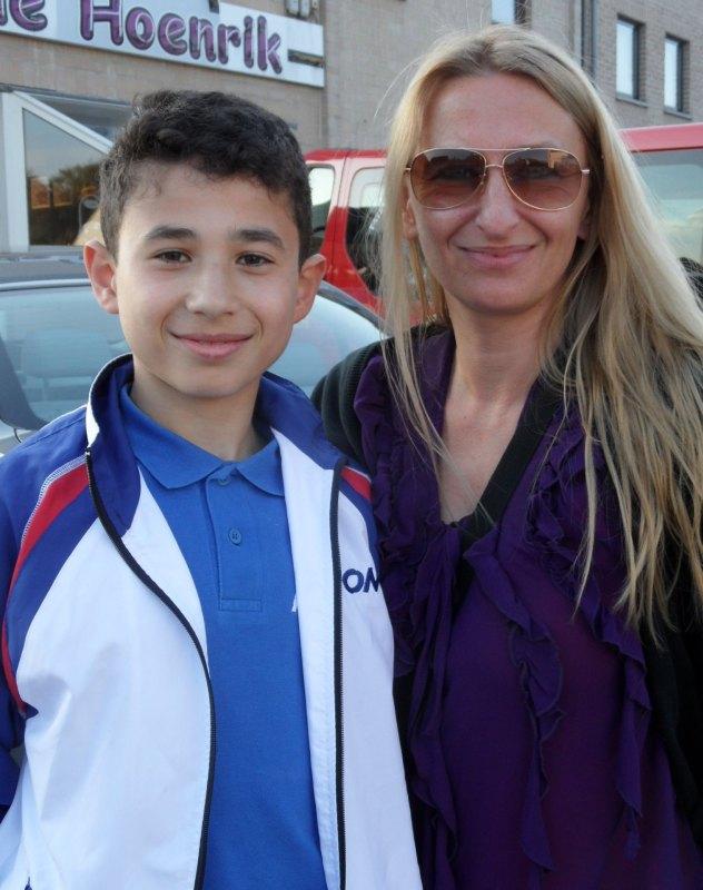 Belgian Open 2014 Lommel - Hüseyin Alperen Canan mit Agnes Guerra