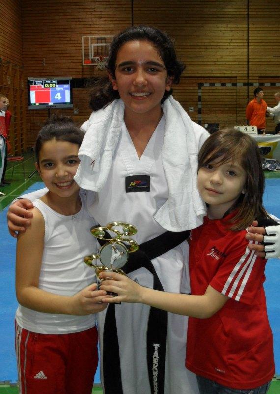 Creti Cup 2014 in Reutlingen - Alara Öztürk, Selina Öztürk und Diana Felix