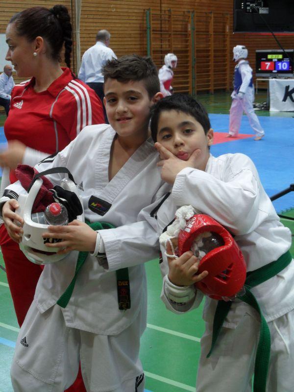 Creti Cup Reutlingen 2013 - Jordan Caputo und Ümit Kazmacan
