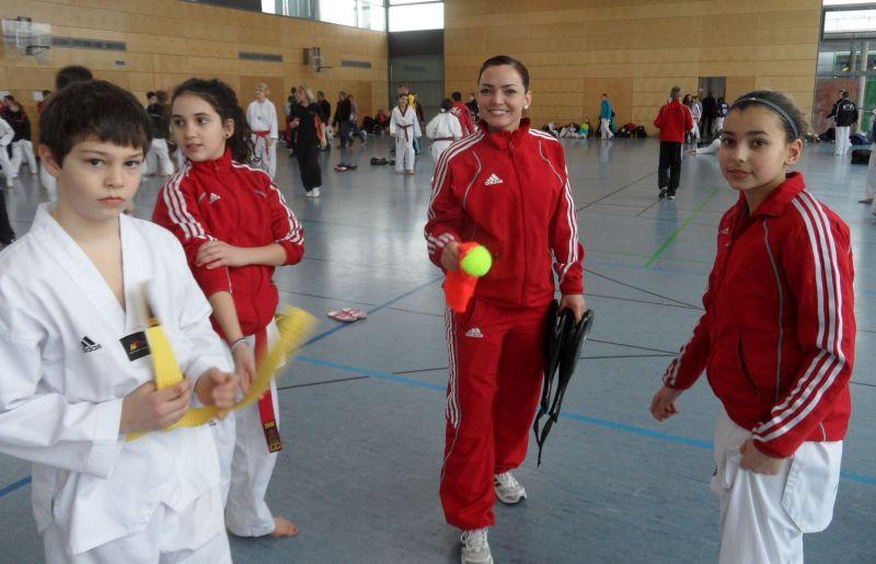 Creti Cup Reutlingen 2013 - Alpay Aker, Chamutal Castano, Vera Komrsova und Sebil Kaya
