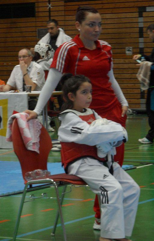 Creti Cup Reutlingen 2013 - Alara Öztürk mit Coach Vera Komrsova