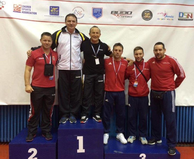 Croatia Open 2013 in Zagreb - Siegerehrung der Vereinswertung