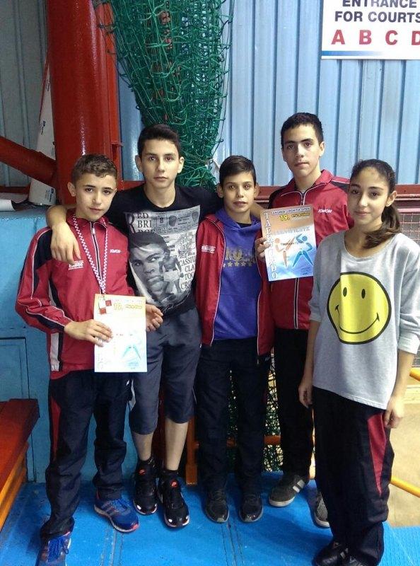 Croatia Open 2013 in Zagreb - Das Team von Taekwondo Varol