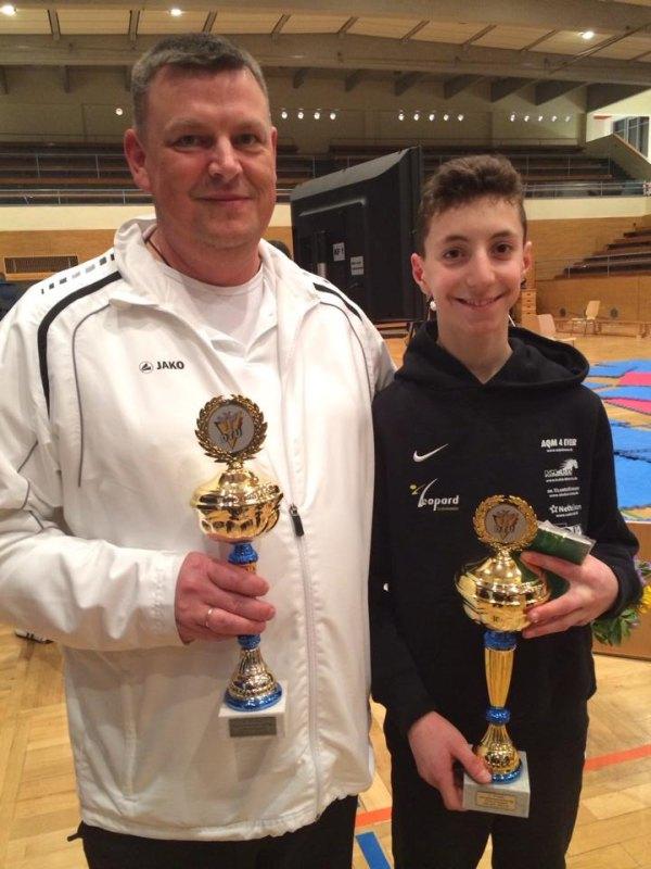 Deutsche Meisterschaft der Jugend A 2014 in Pforzheim - Vassileios Katsaros