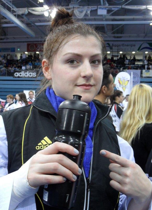 Deutsche Meisterschaft der Senioren 2014 in Gummersbach - Katharina Weiss