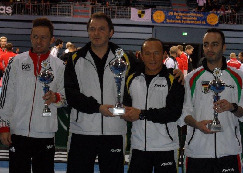 Deutsche Meisterschaft der Senioren 2014 in Gummersbach - Siegerehrung für die Verbandswertung