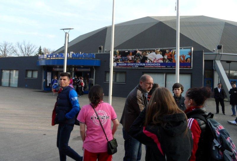 Dutch Open 2014 in Eindhoven - Die Wettkampfhalle