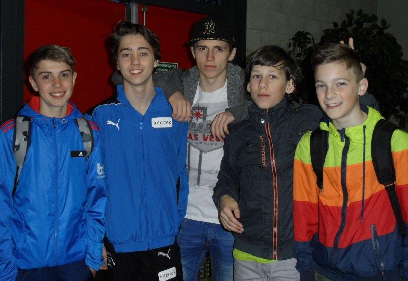 Dutch Open 2014 in Eindhoven - Kevin Rasch, Frank Rüppel, Alex Rotenberger, Benjamin Metzger und Miguel Floder
