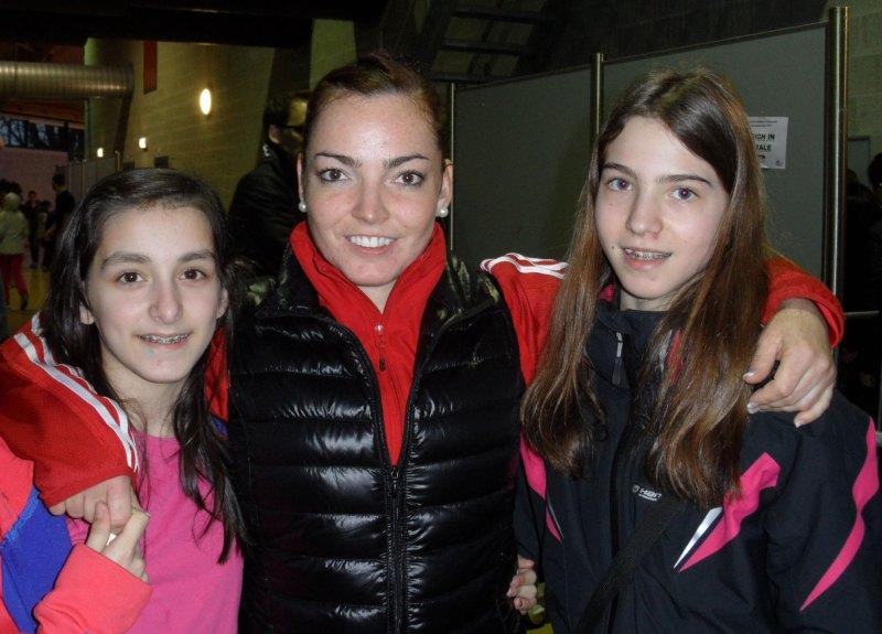 Dutch Open 2014 in Eindhoven - Melanie Felix, Vera Komrsova und Michaela Kubikova
