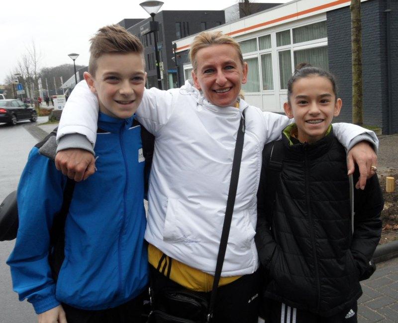 Dutch Open 2014 in Eindhoven - Miguel Floder, Agnes Guerra und Shayna Guerra