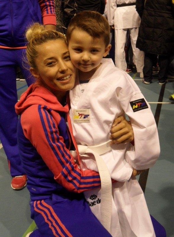 Dutch Open 2014 in Eindhoven - Sümeyye Manz mit ihrem Sohn Aurelio Kaan Manz