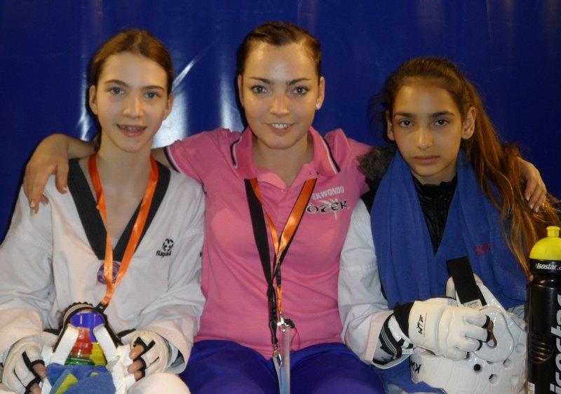 Dutch Open 2014 in Eindhoven - Michaela Kubikova, Vera Komrsova und Tatiana Miccoli