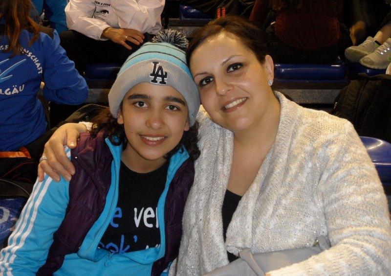 Dutch Open 2014 in Eindhoven - Selina Öztürk mit ihrer Mutter Nurgül Öztürk