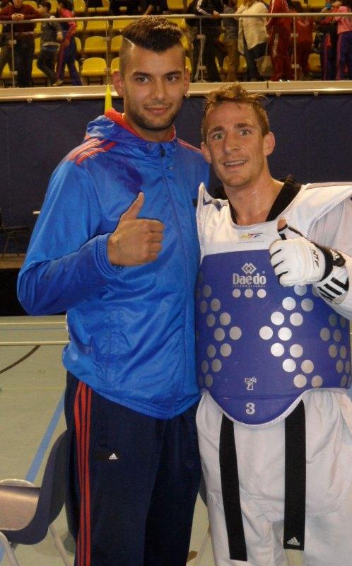 Dutch Open 2014 in Eindhoven - Tahir Gülec mit Daniel Manz