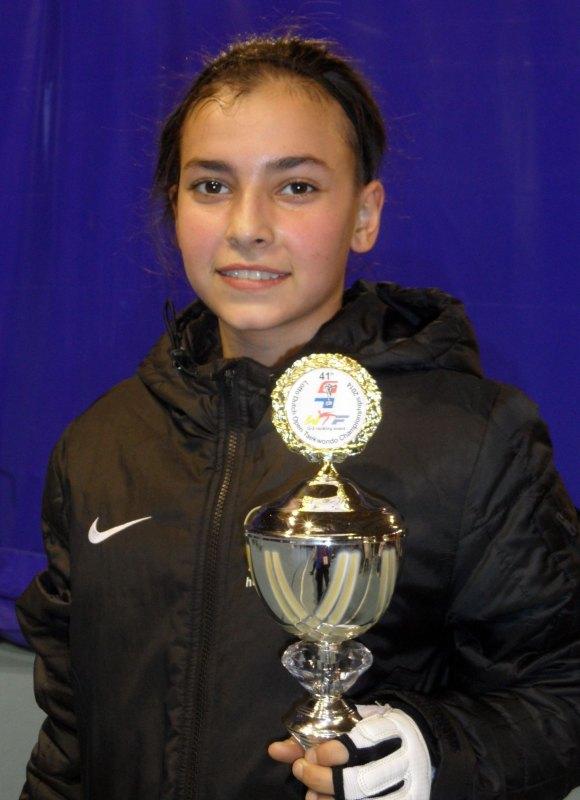 Dutch Open 2014 in Eindhoven - Sebil Kaya mit ihrem Pokal
