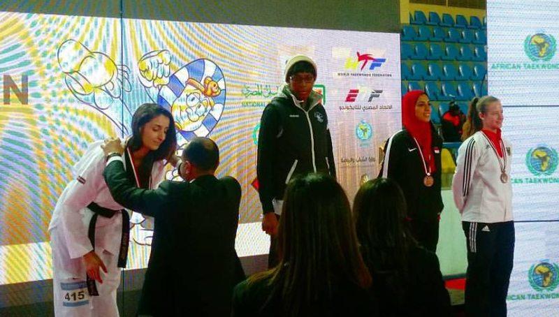 Egypt Open 2017 in Luxor - Siegerehrung Vanessa Körndl