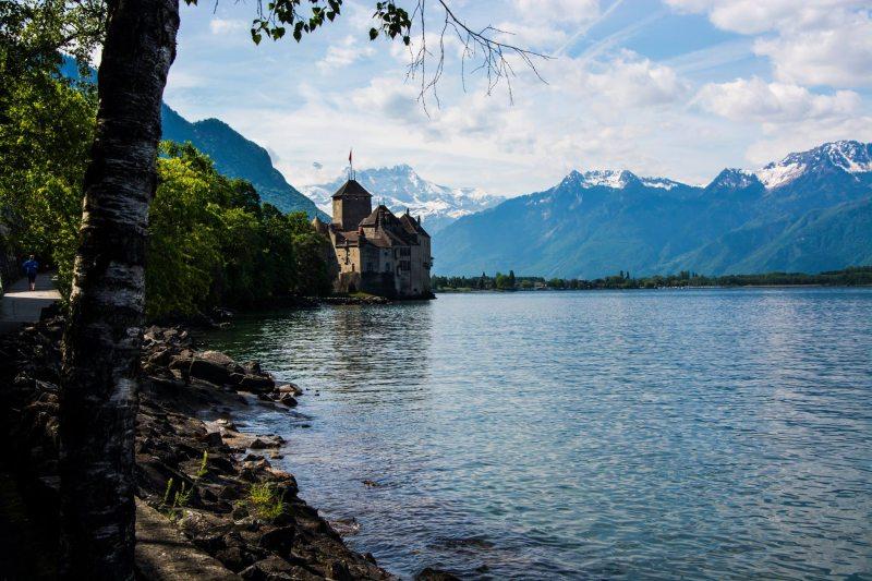 Europameisterschaft 2016 Montreux - Schloss Chillon am Genfersee