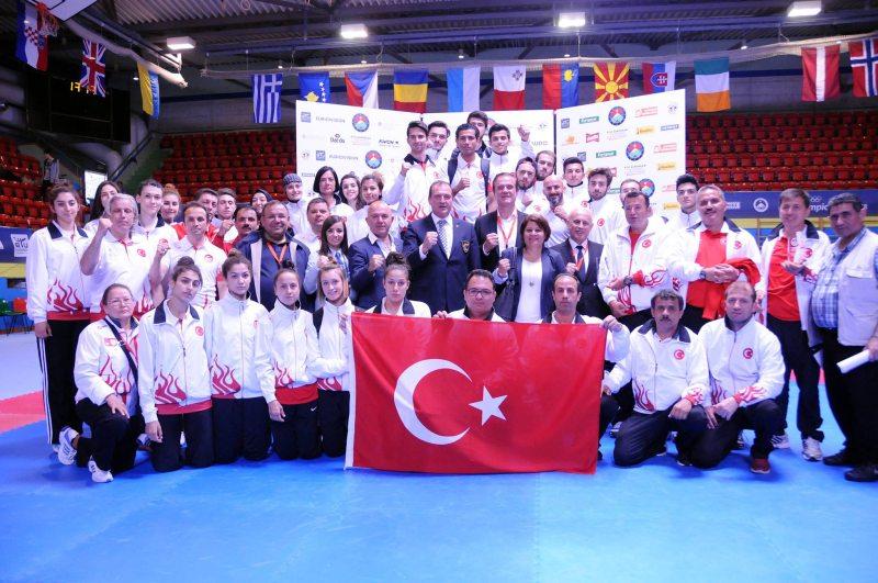 Europameisterschaft 2016 Montreux - Das türkische Team