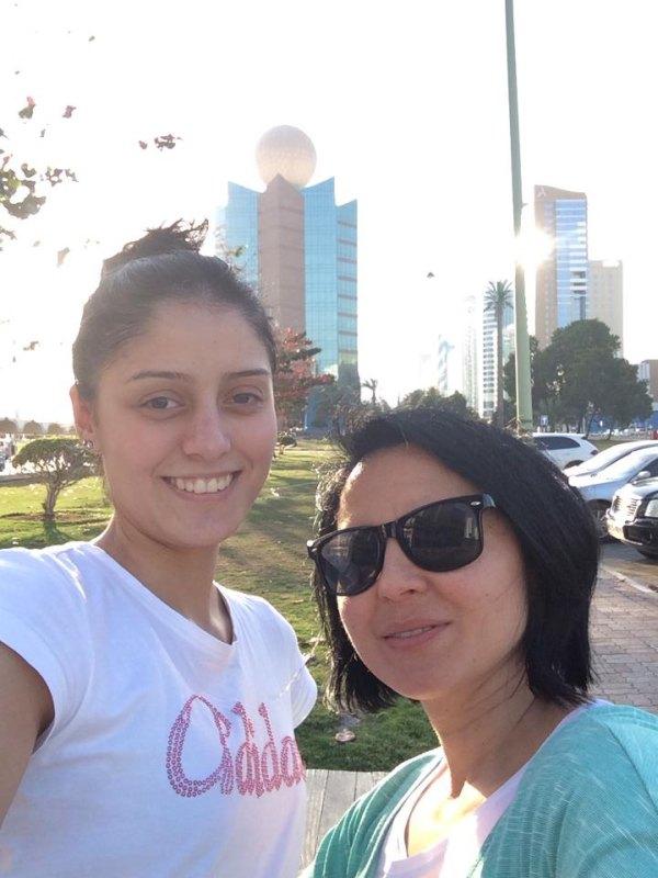 Fujairah Open 2014 in Fudschaira - Burcin Kayhan und Hayat Gülec
