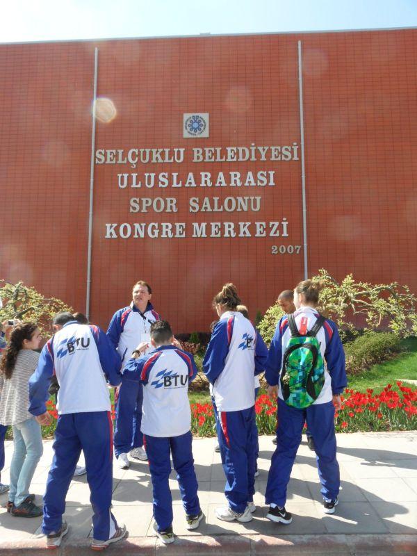 Internationales Kinderturnier Konya 2012 - Bild Eröffnungsfeier 1